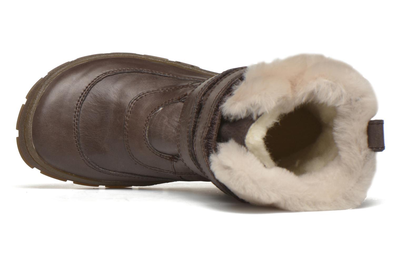 Bottes Pom d Api Piwi Fur Vel Marron vue gauche