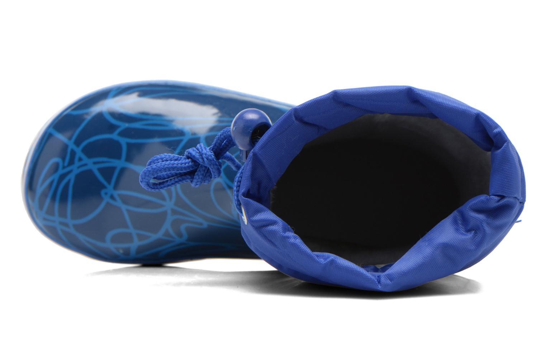 Bottes Agatha Ruiz de la Prada Solka Bleu vue gauche