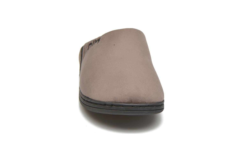 Chaussons Dim D Eliam Gris vue portées chaussures