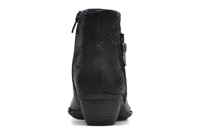 Bottines et boots Dorking Nina 6863 Noir vue droite