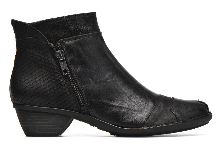 Bottines et boots Dorking Nina 6863 Noir vue derrière