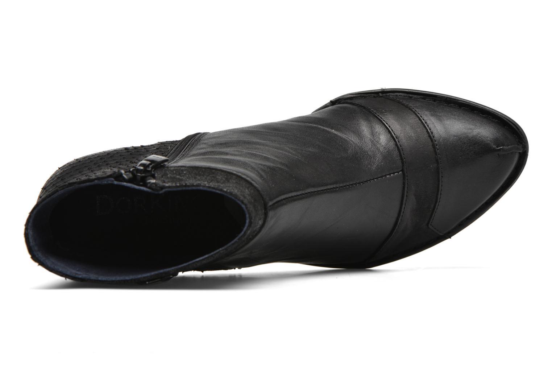 Bottines et boots Dorking Nina 6863 Noir vue gauche