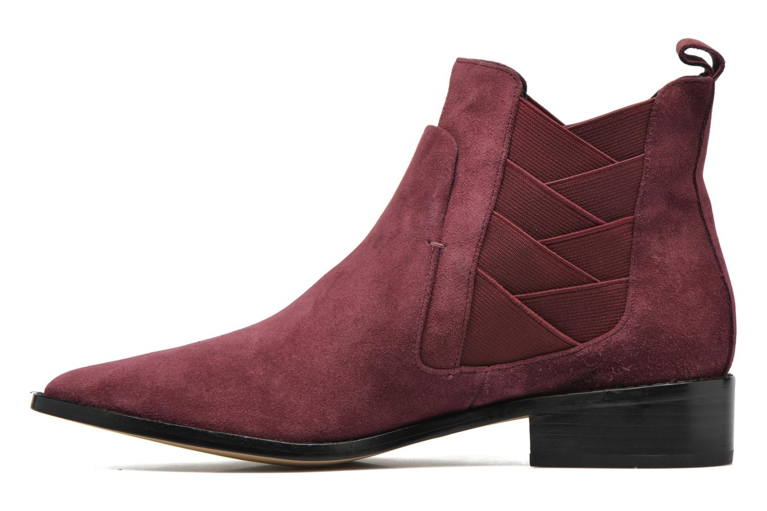 JACY dark marron oiled suede