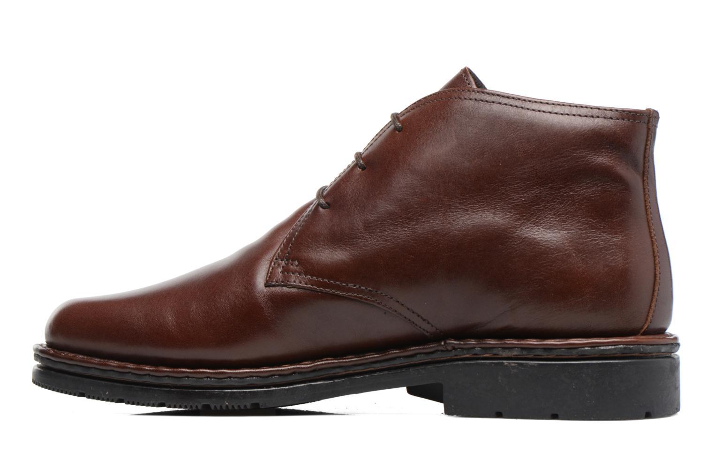 Chaussures à lacets Fluchos Galaxi 3130 Marron vue face