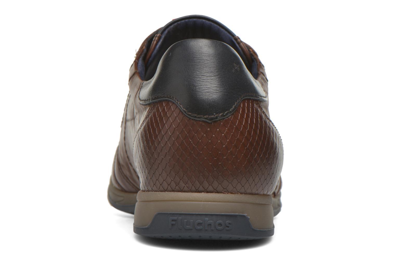 Baskets Fluchos Daniel 9261 Marron vue droite