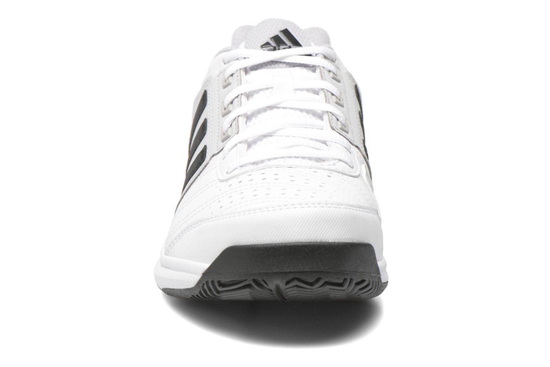Chaussures de sport Adidas Performance Barricade Approach Str Blanc vue portées chaussures