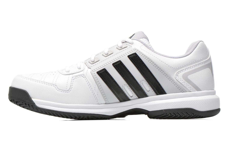 Chaussures de sport Adidas Performance Barricade Approach Str Blanc vue face