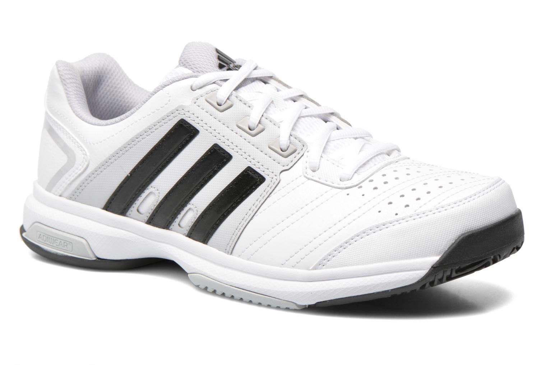 Chaussures de sport Adidas Performance Barricade Approach Str Blanc vue détail/paire