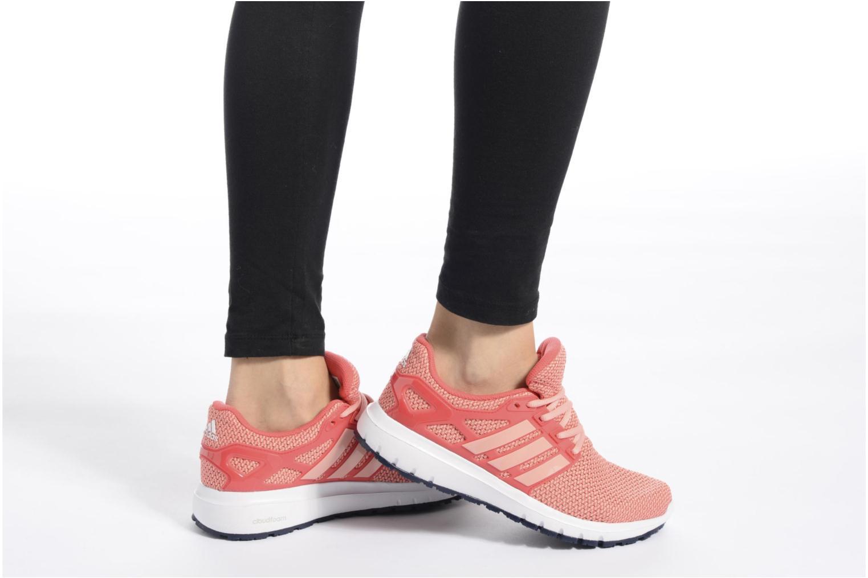 Chaussures de sport Adidas Performance energy cloud wtc w Rose vue bas / vue portée sac