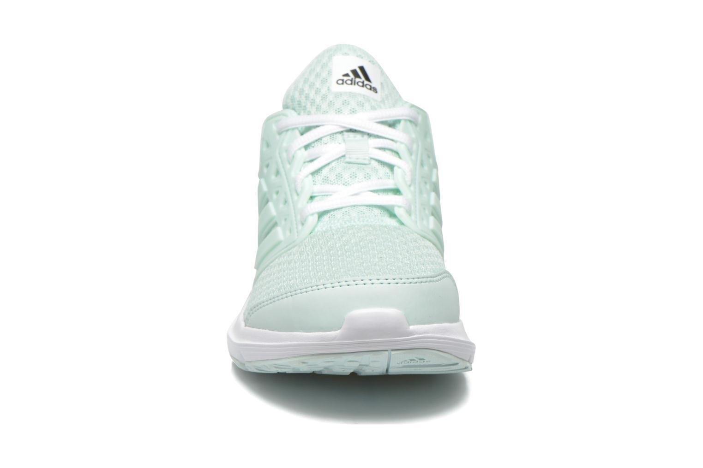 Chaussures de sport Adidas Performance galaxy 3 w Vert vue portées chaussures