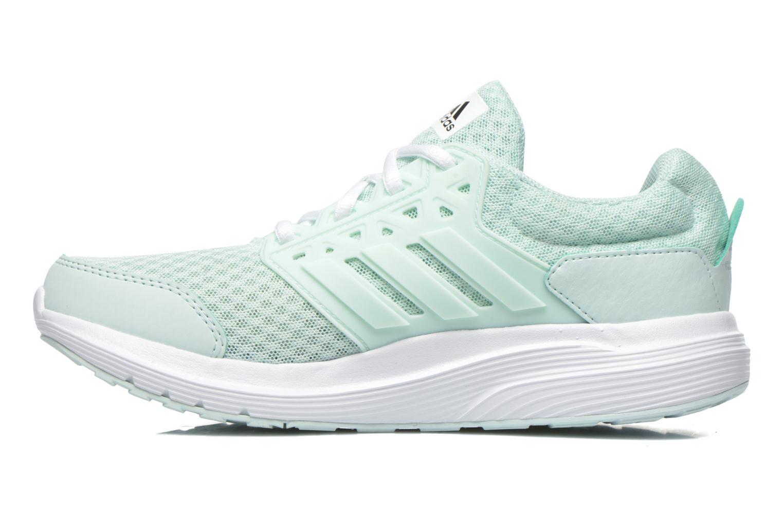 Chaussures de sport Adidas Performance galaxy 3 w Vert vue face