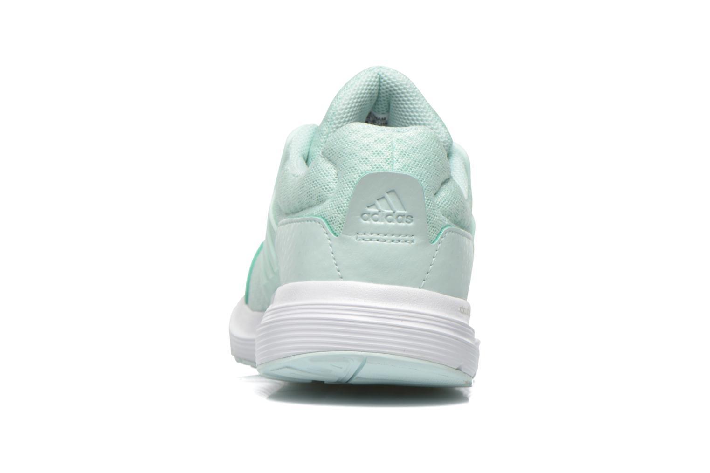 Chaussures de sport Adidas Performance galaxy 3 w Vert vue droite