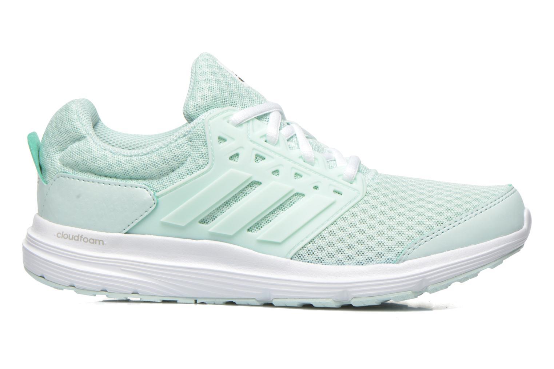 Chaussures de sport Adidas Performance galaxy 3 w Vert vue derrière