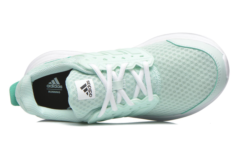 Chaussures de sport Adidas Performance galaxy 3 w Vert vue gauche