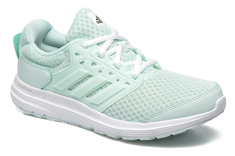 Chaussures de sport Adidas Performance galaxy 3 w Vert vue détail/paire