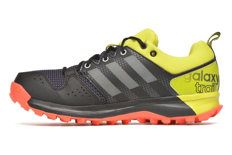 Chaussures de sport Adidas Performance Galaxy Trail M Noir vue face