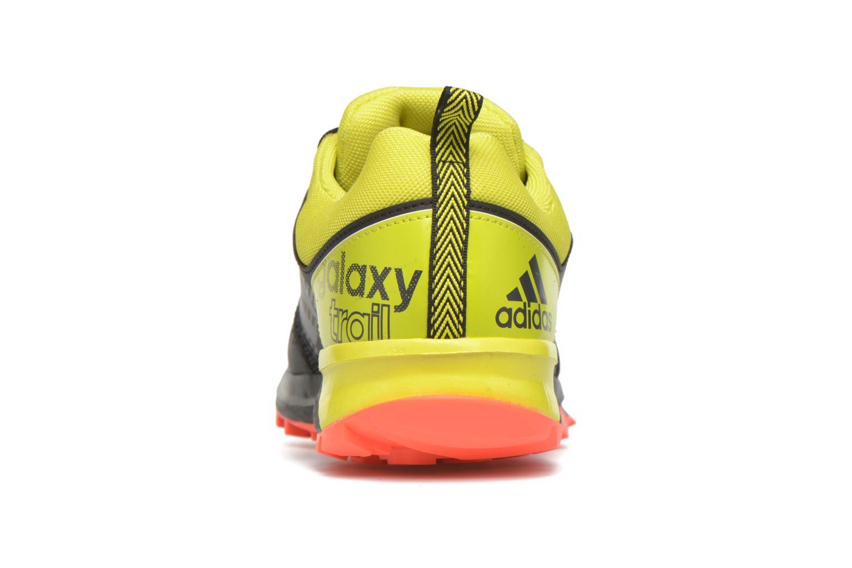 Chaussures de sport Adidas Performance Galaxy Trail M Noir vue droite