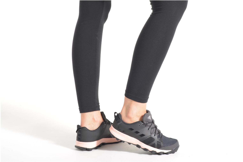 Chaussures de sport Adidas Performance kanadia 8 tr w Noir vue bas / vue portée sac