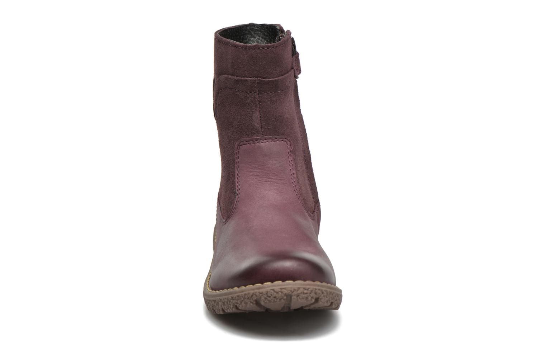 Bottes Kickers Uzou Violet vue portées chaussures
