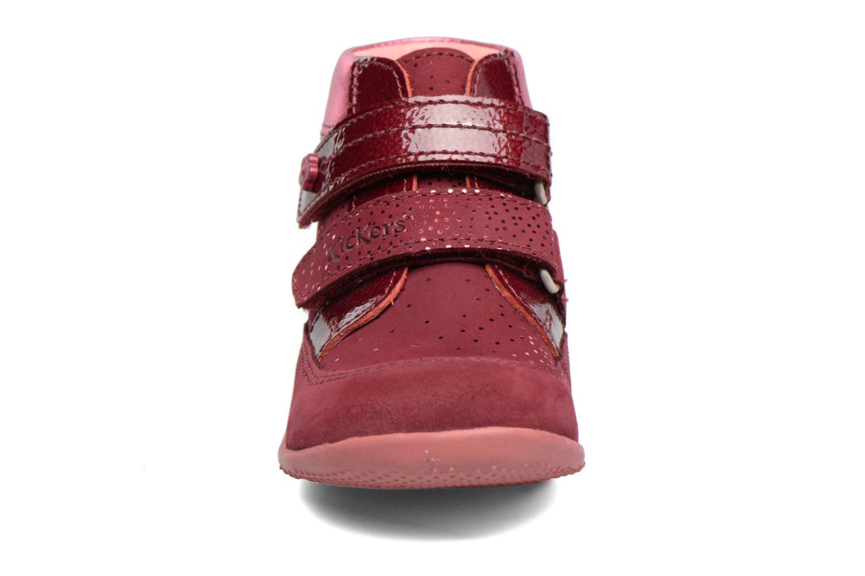 Bottines et boots Kickers Biliana Rose vue portées chaussures