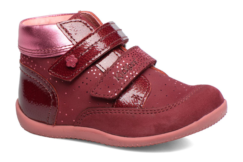 Bottines et boots Kickers Biliana Rose vue détail/paire