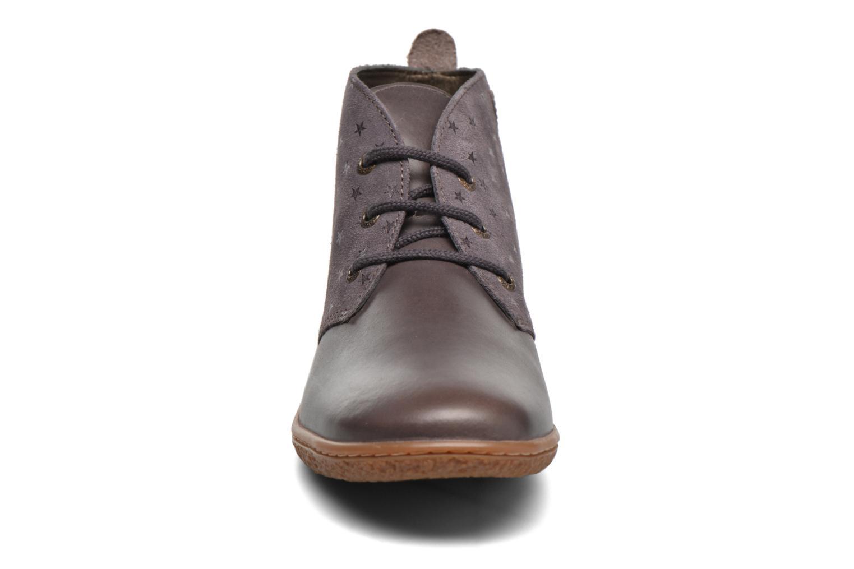 Bottines et boots Kickers Verblue Gris vue portées chaussures