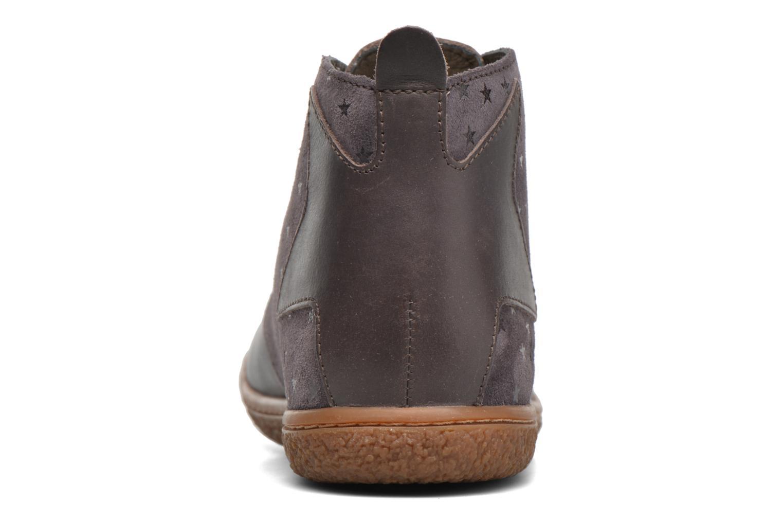 Bottines et boots Kickers Verblue Gris vue droite