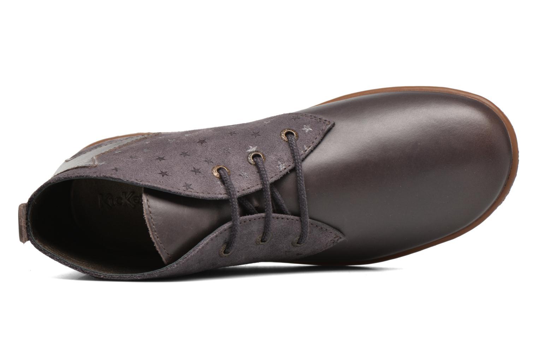 Bottines et boots Kickers Verblue Gris vue gauche
