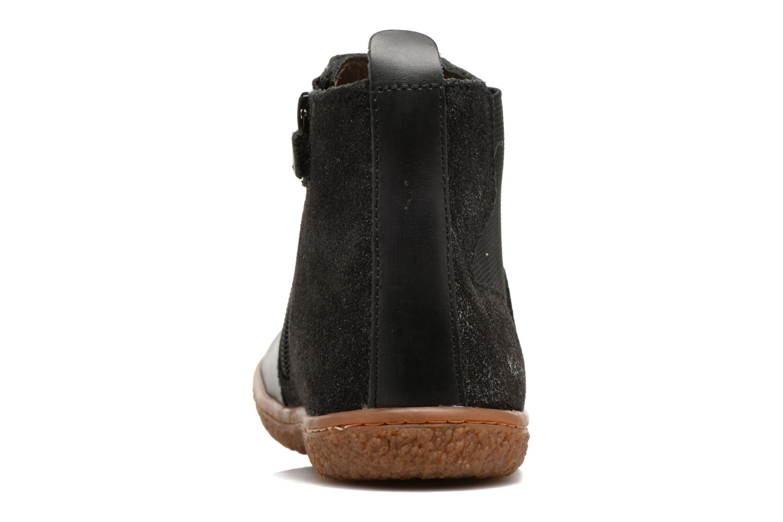 Bottines et boots Kickers Vermillon Noir vue droite