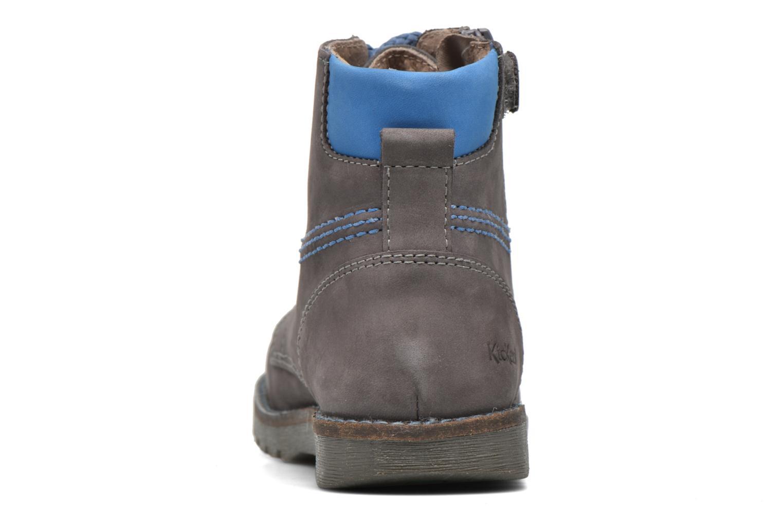Bottines et boots Kickers Halloa Gris vue droite