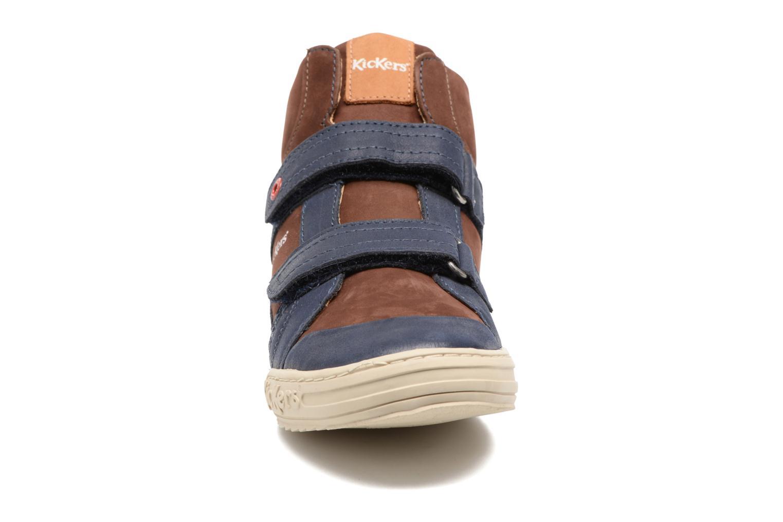 Baskets Kickers Jinjinu Noir vue portées chaussures