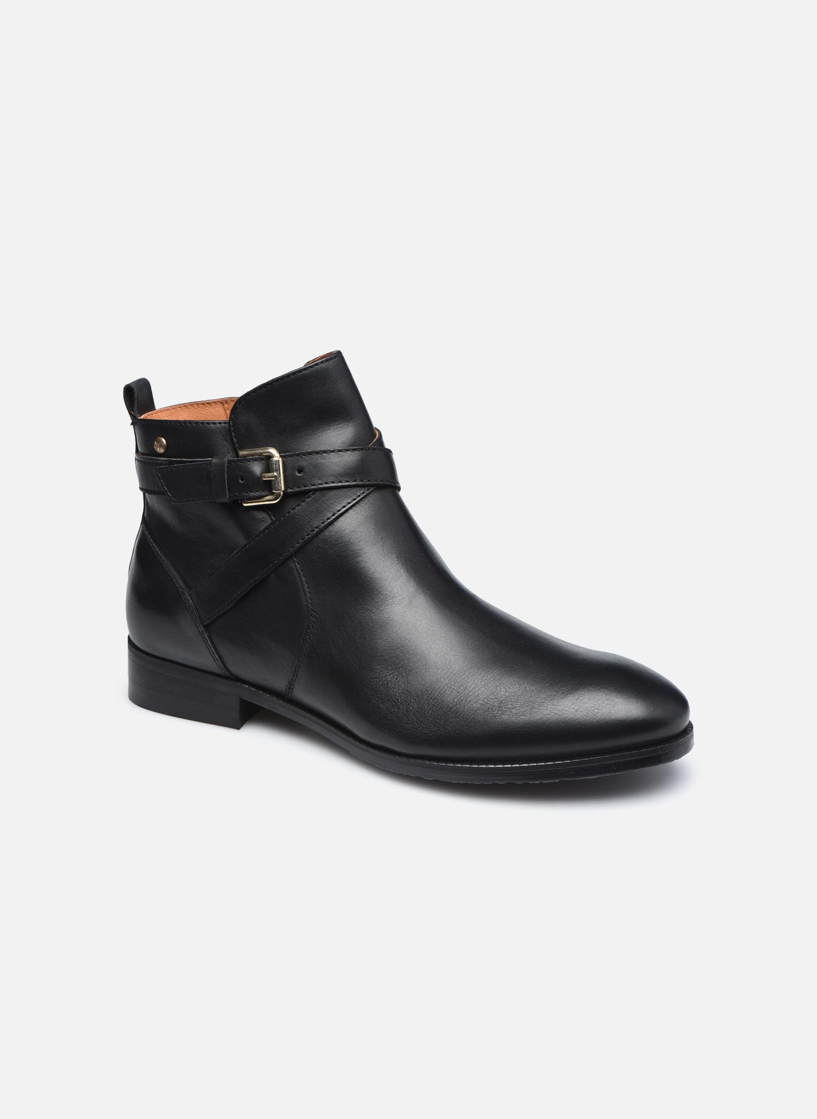 Boots en enkellaarsjes Pikolinos ROYAL W4D-8614 Zwart detail