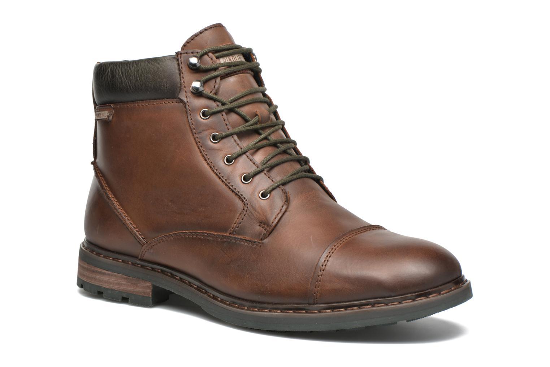 Bottines et boots Pikolinos CACERES M9E-8104SP Marron vue détail/paire