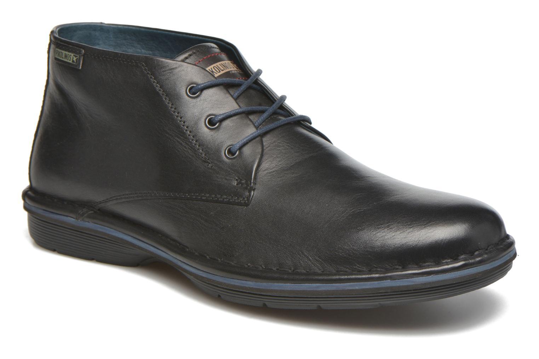Chaussures à lacets Pikolinos LUGO M1F-8093 Noir vue détail/paire