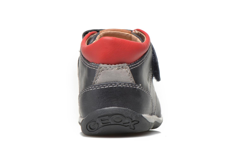 Chaussures à scratch Geox B Each B. B B640BB Bleu vue droite