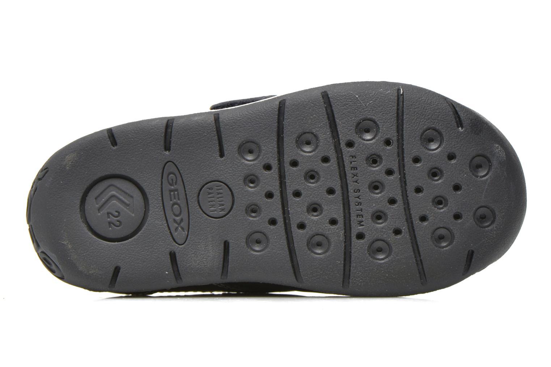 Chaussures à scratch Geox B Each B. B B640BB Bleu vue haut