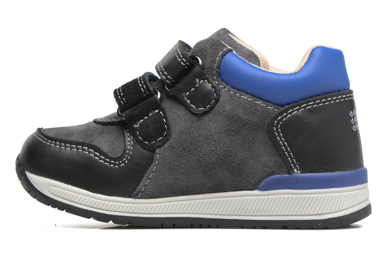 Sneakers Geox B Rishon B. A B640RA Azzurro immagine frontale