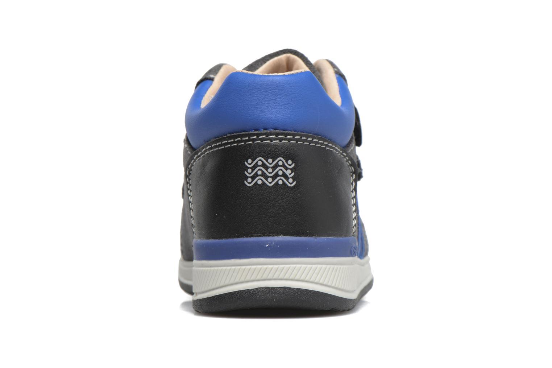 Sneakers Geox B Rishon B. A B640RA Azzurro immagine destra