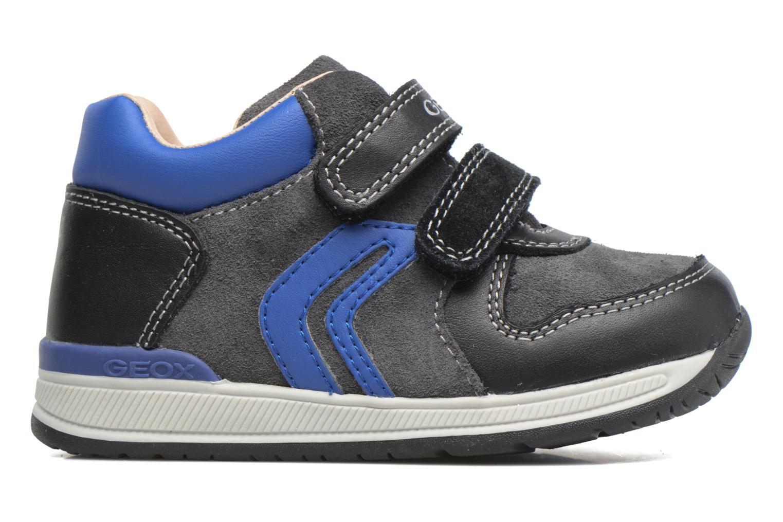 Sneakers Geox B Rishon B. A B640RA Azzurro immagine posteriore