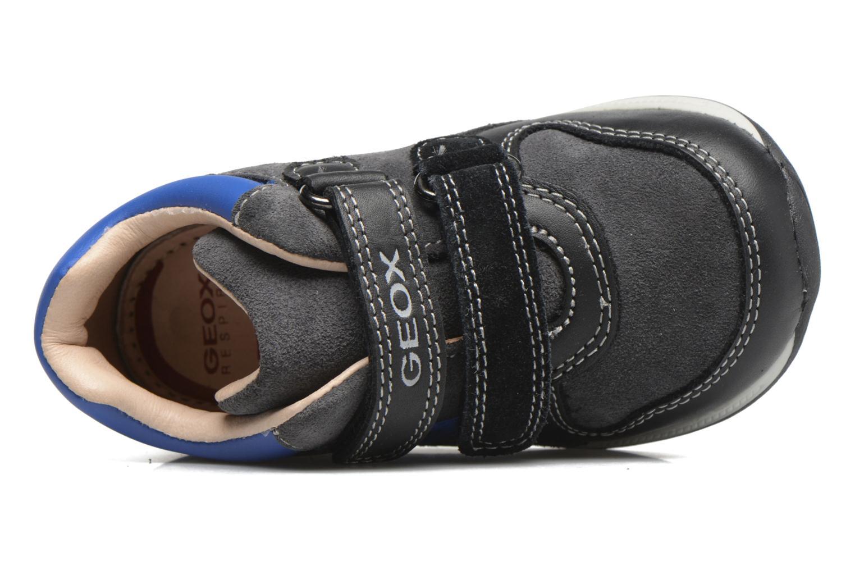 Baskets Geox B Rishon B. A B640RA Bleu vue gauche