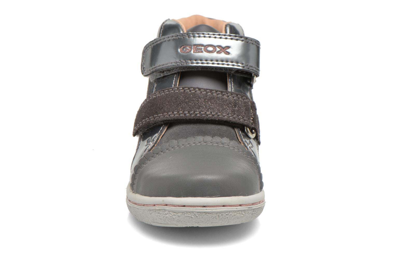 Baskets Geox B Flick G. C B6434C Gris vue portées chaussures