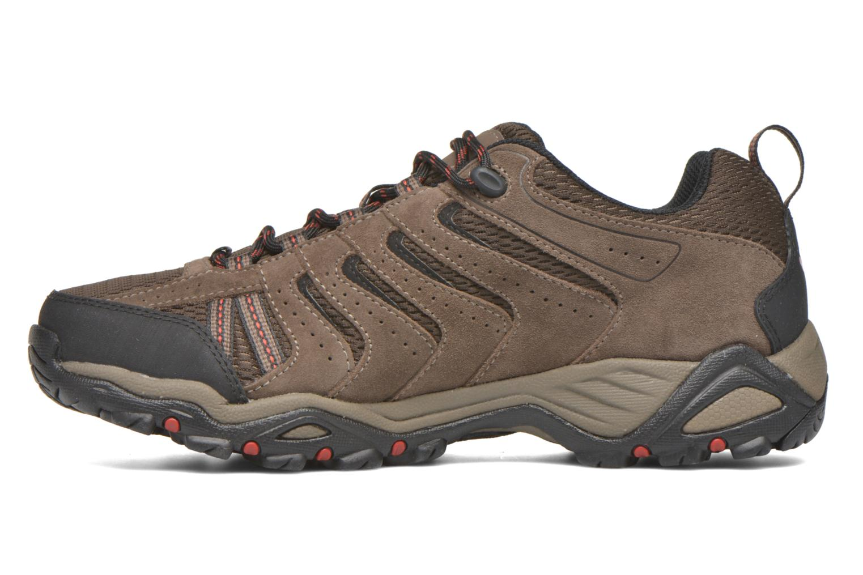 Chaussures de sport Columbia North Plains II Waterproof Marron vue face