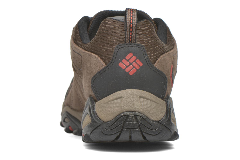 Chaussures de sport Columbia North Plains II Waterproof Marron vue droite
