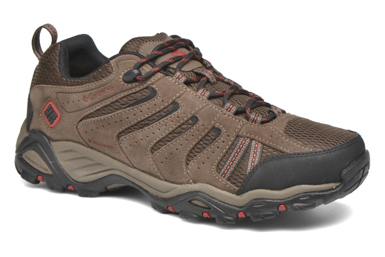 Chaussures de sport Columbia North Plains II Waterproof Marron vue détail/paire