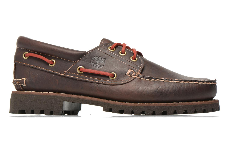 Chaussures à lacets Timberland Heritage 3-Eye Classic Lug Marron vue derrière