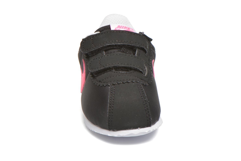 Baskets Nike Nike Cortez Nylon (Tdv) Noir vue portées chaussures
