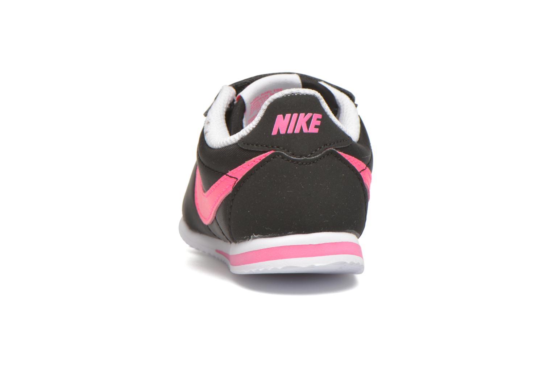 Baskets Nike Nike Cortez Nylon (Tdv) Noir vue droite