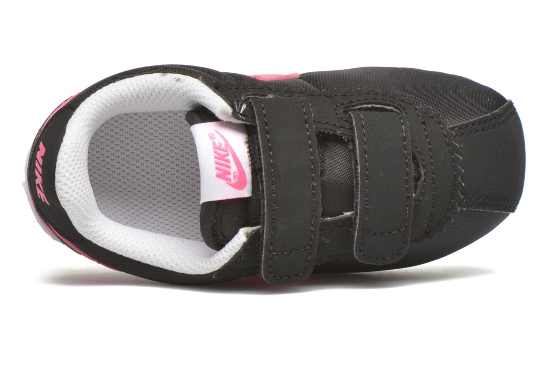 Baskets Nike Nike Cortez Nylon (Tdv) Noir vue gauche