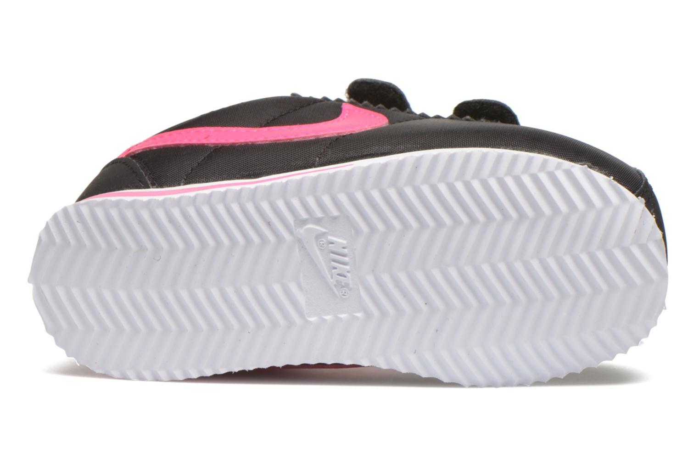 Baskets Nike Nike Cortez Nylon (Tdv) Noir vue haut