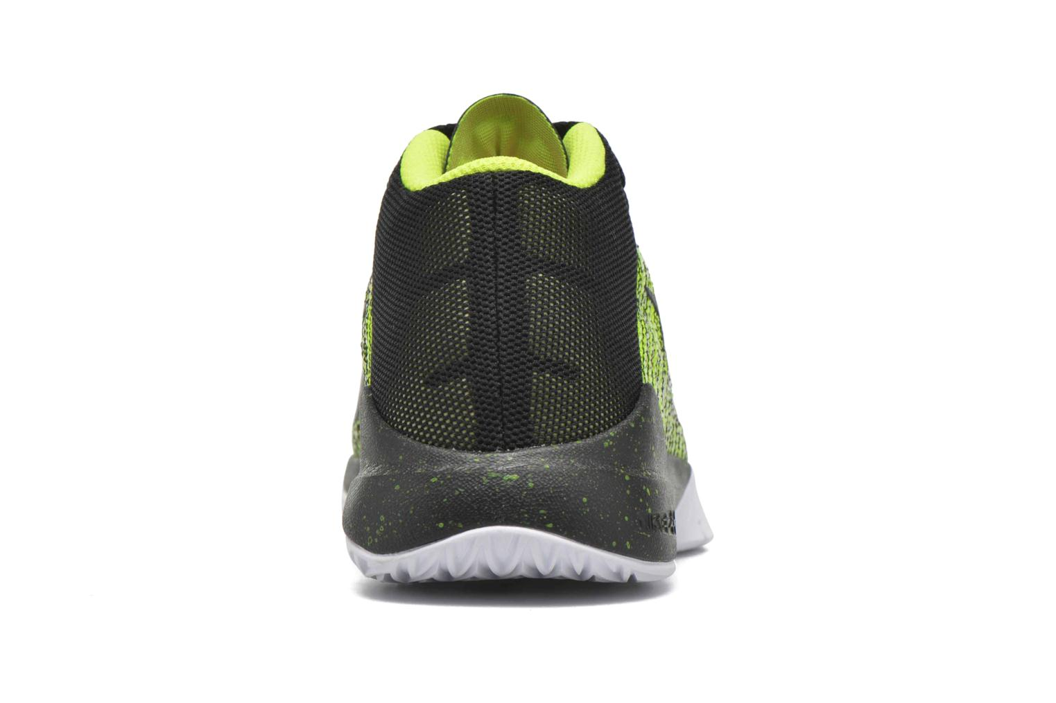 Trainers Nike Nike Zoom Ascention (Gs) Yellow view from the right